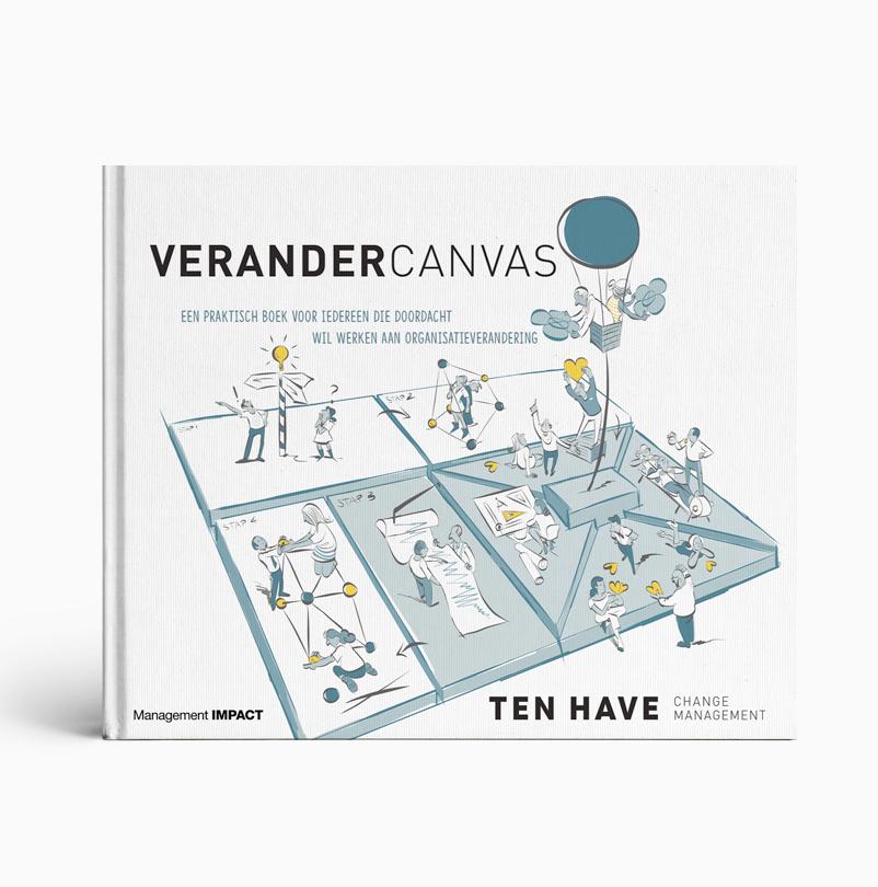 Verandercanvas een praktisch boek voor iedereen die doordacht wil werken aan organisatieverandering veranderen verandering transitie ten have change management